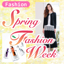 2019春スプリングファッション 松菱百貨店