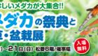 メダカの祭典 松菱百貨店6階催事場